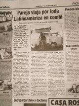 Entrevista no Diário Popular(Paraguai)